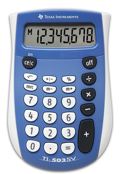 Image For TI-503 SV CALCULATOR