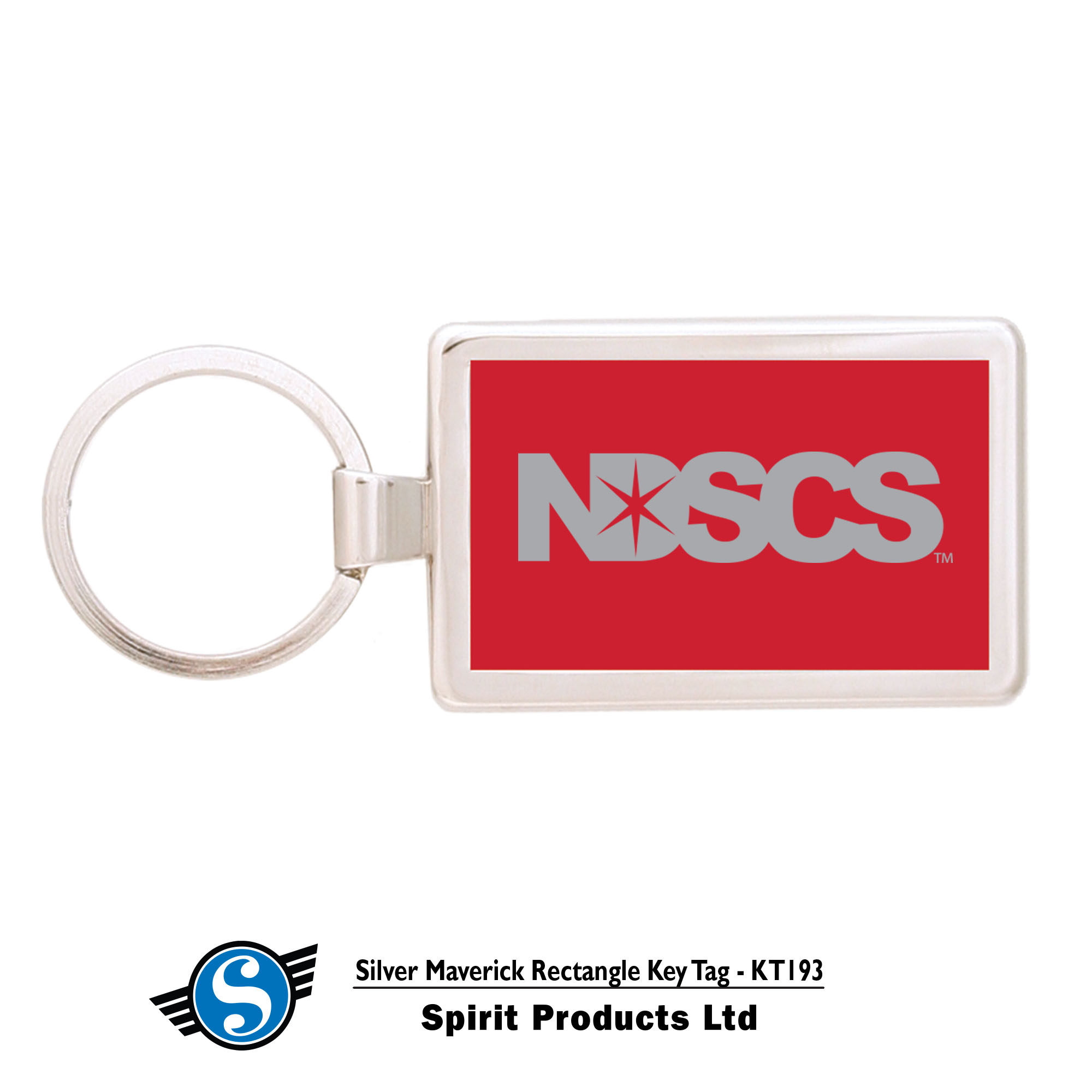 Image For NDSCS KEYTAG, RED