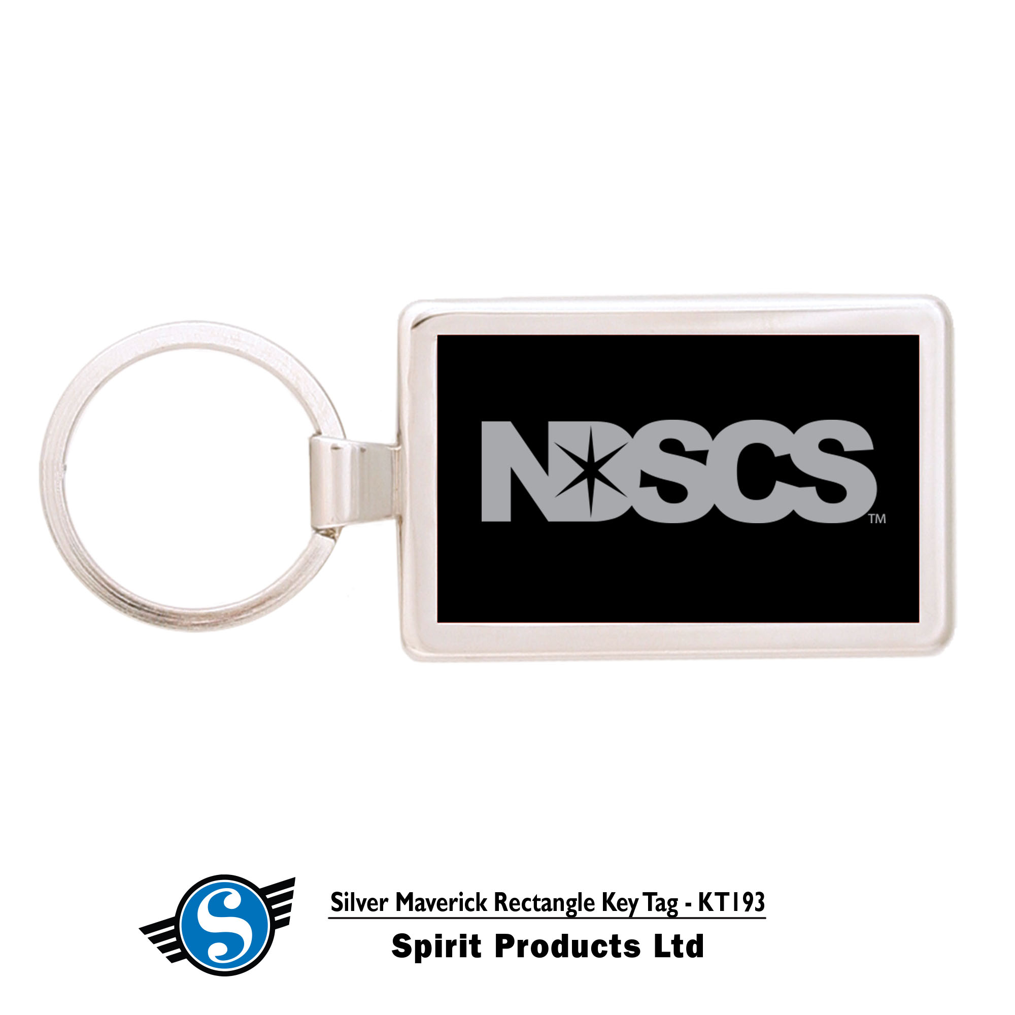 Image For NDSCS KEYTAG, BLACK