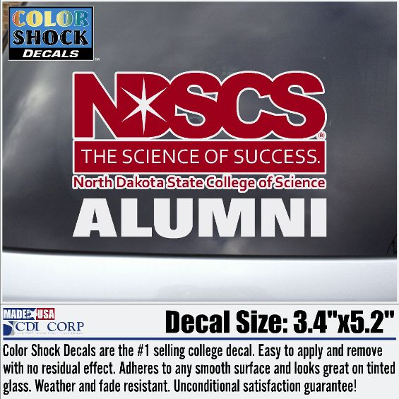 "Image For ""Alumni"" Decal by Color Shock"