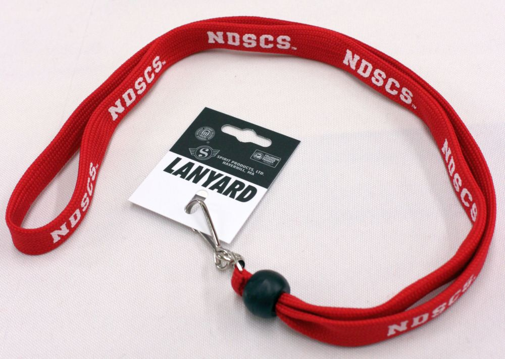 Cover Image For Lanyard 5/8 NDSCS Red