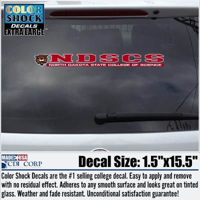 Image For Decal NDSCS Mascot Long