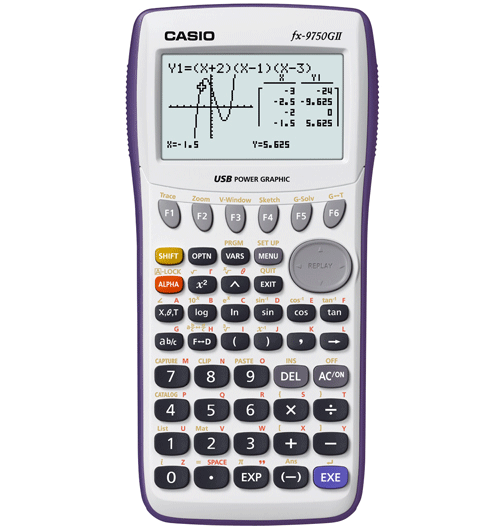 Image For CASIO FX-9750GII CALCULATOR