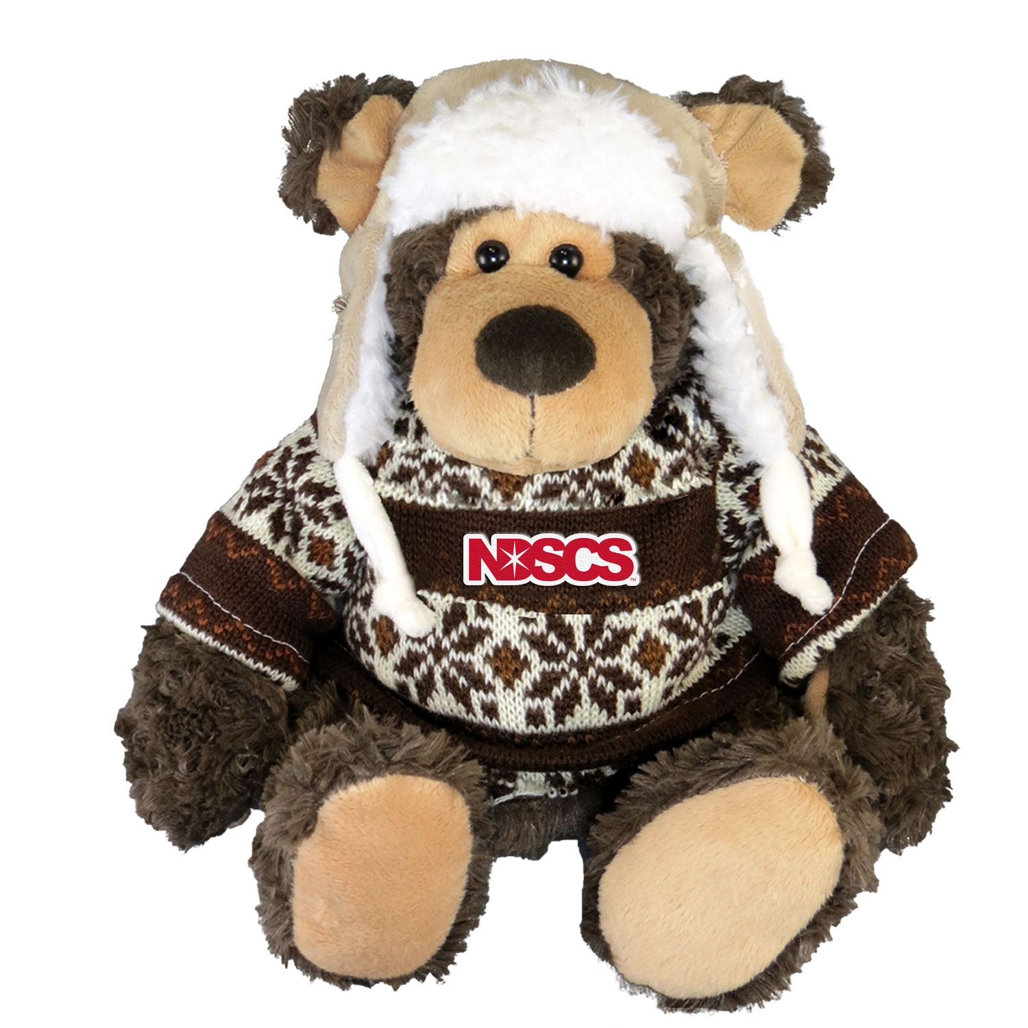 Image For Cozie Bear, Brn W/ Brn