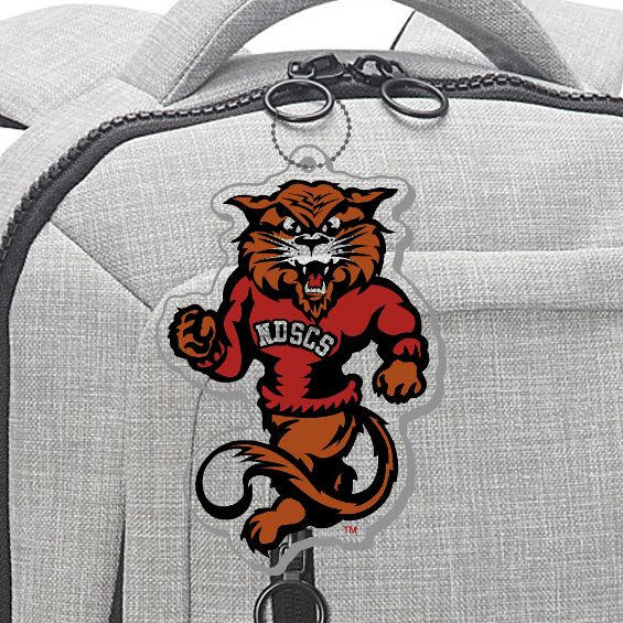 Image For Bag Tag, Wildcat