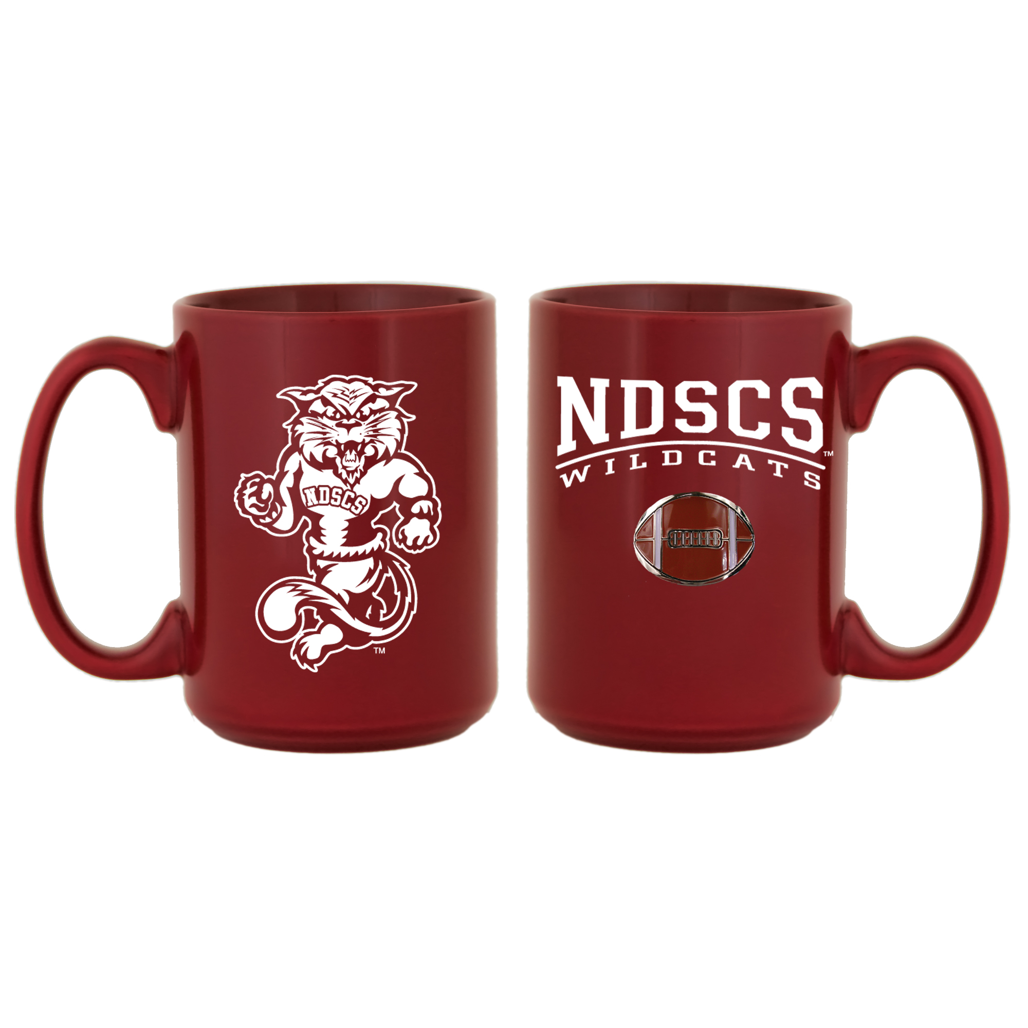 Image For Medallion Football Mug by Spirit