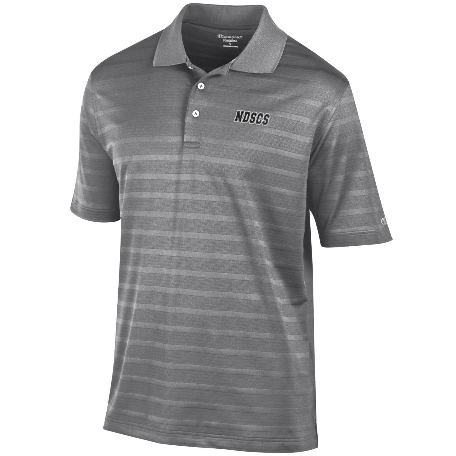 Image For CHAMPION® TEXTURED SOLID POLO