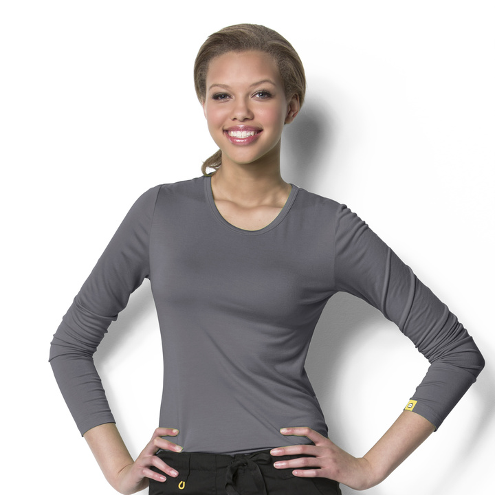Image For Silky Long Sleeve Tee (XS - XL)