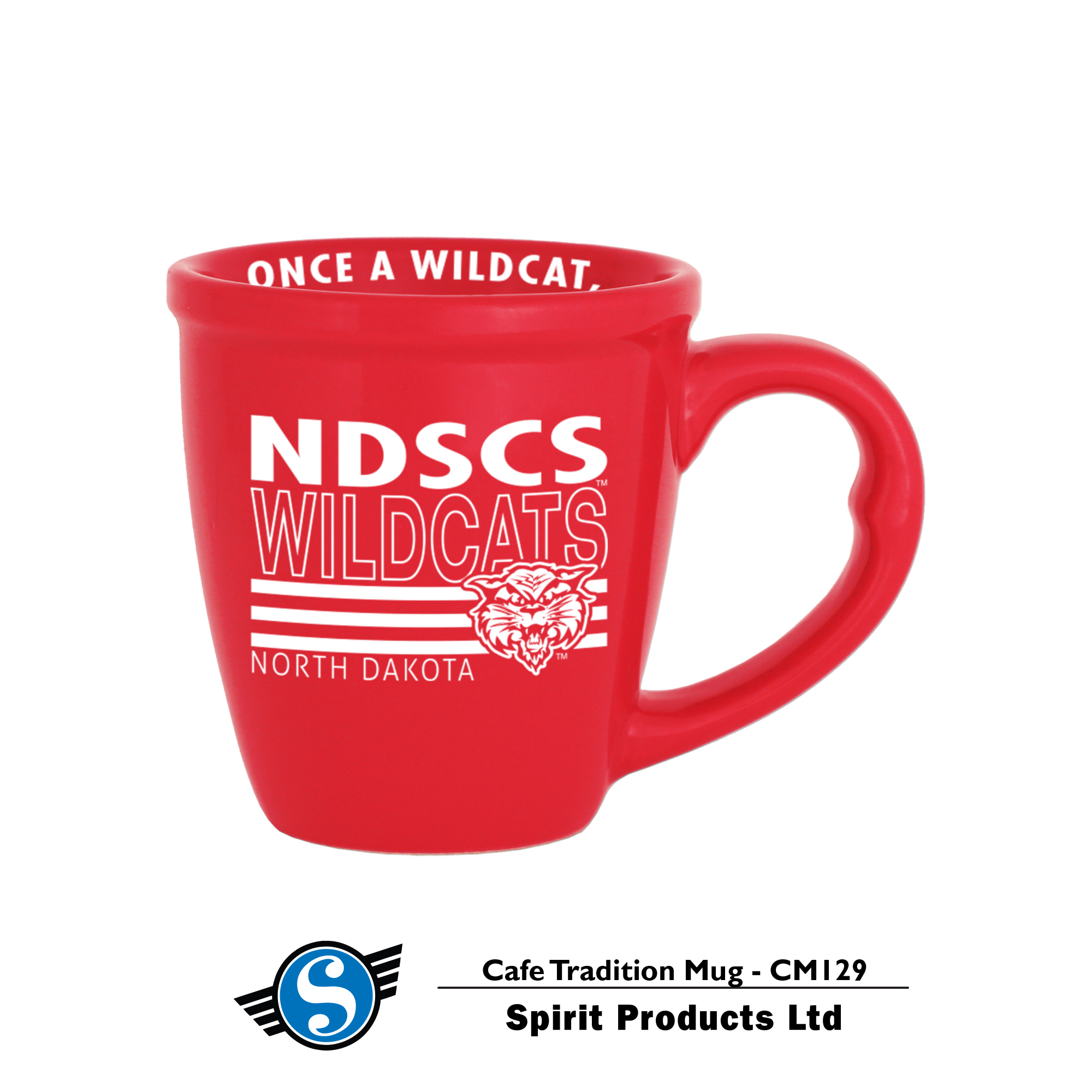 Image For Cafe Tradition Mug - Red