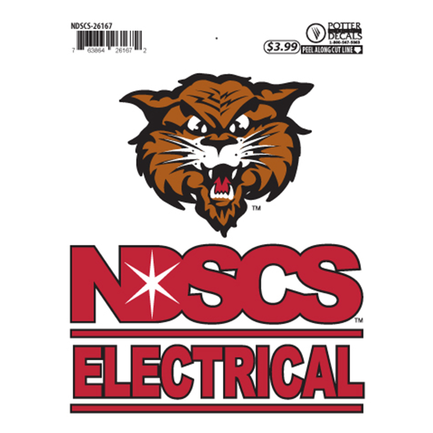 "Image For ""Electrical"" Decal by Potter"