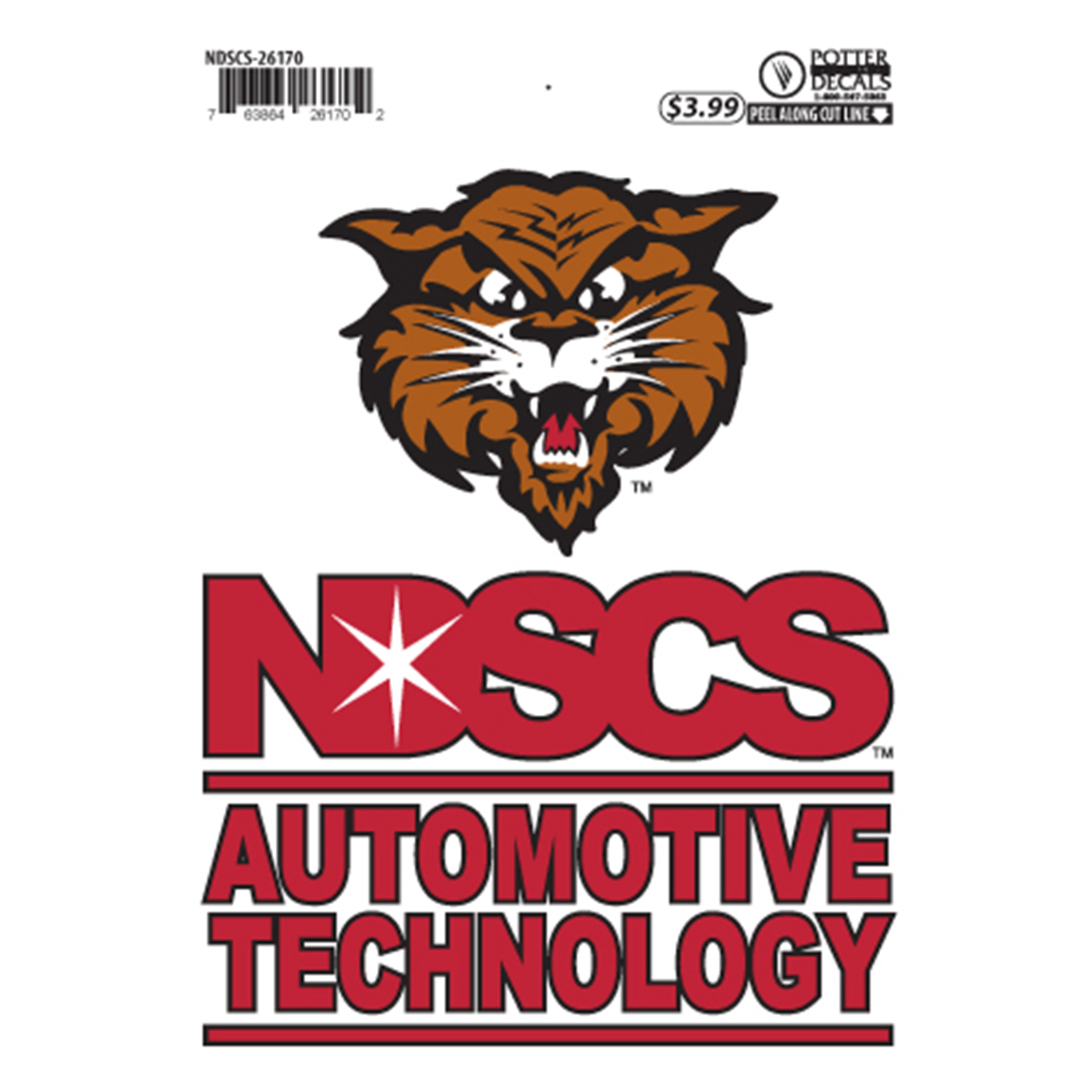 "Image For ""Automotive Technology"" Decal by Potter"