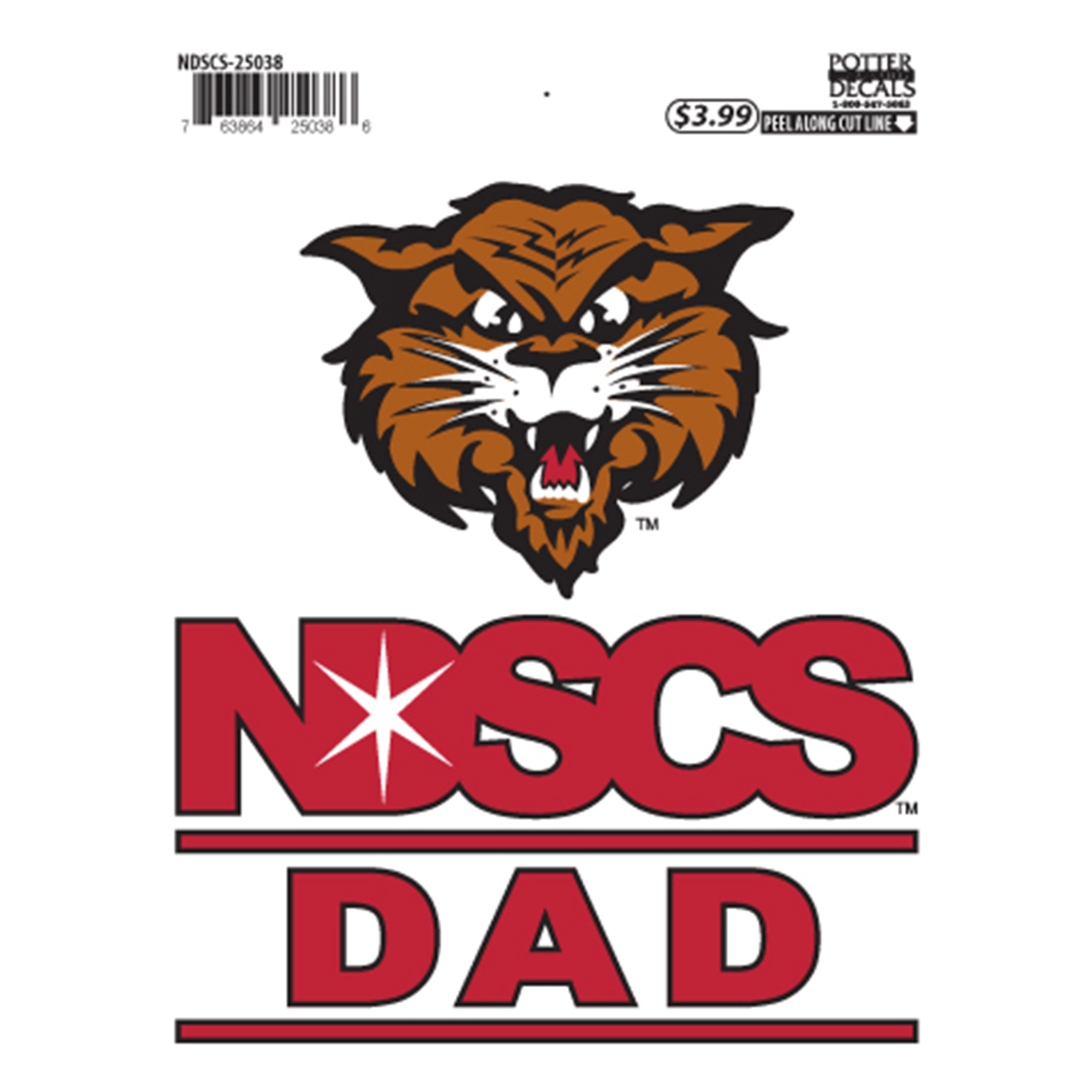 "Image For ""Dad"" Decal by Potter"