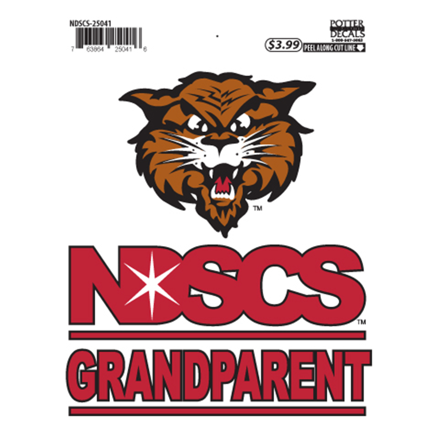 "Image For ""Grandparent"" Decal by Potter"