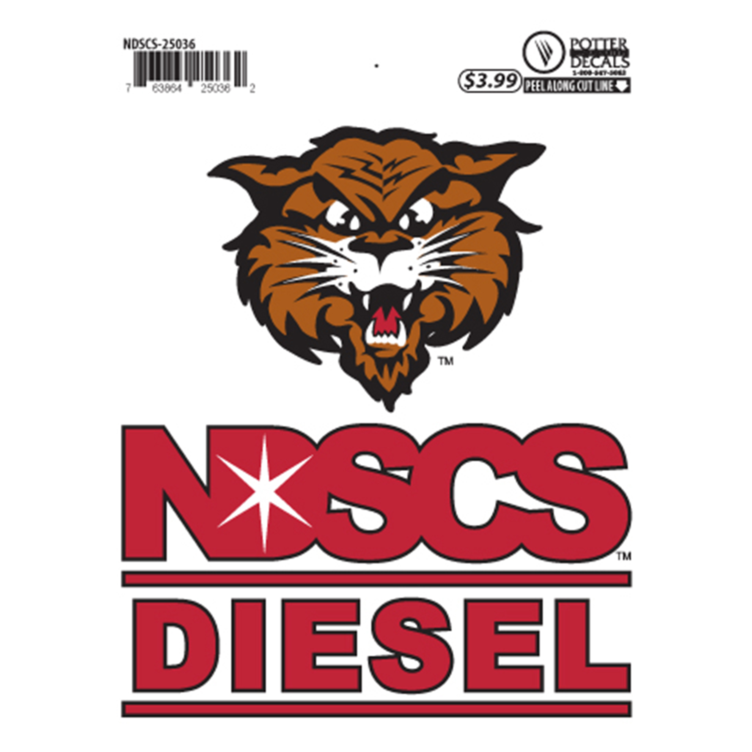 "Image For ""Diesel"" Decal by Potter"