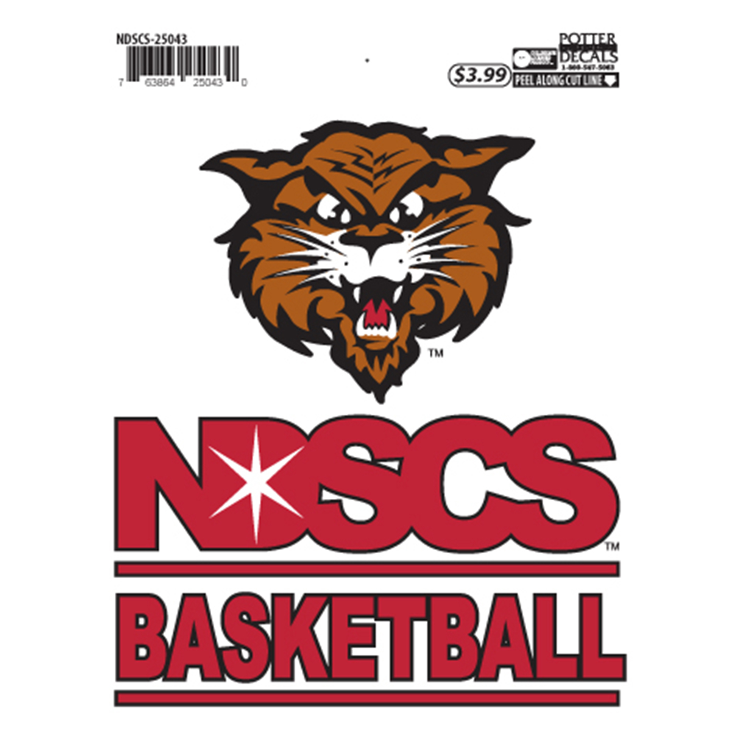 "Image For ""Basketball"" Decal by Potter"