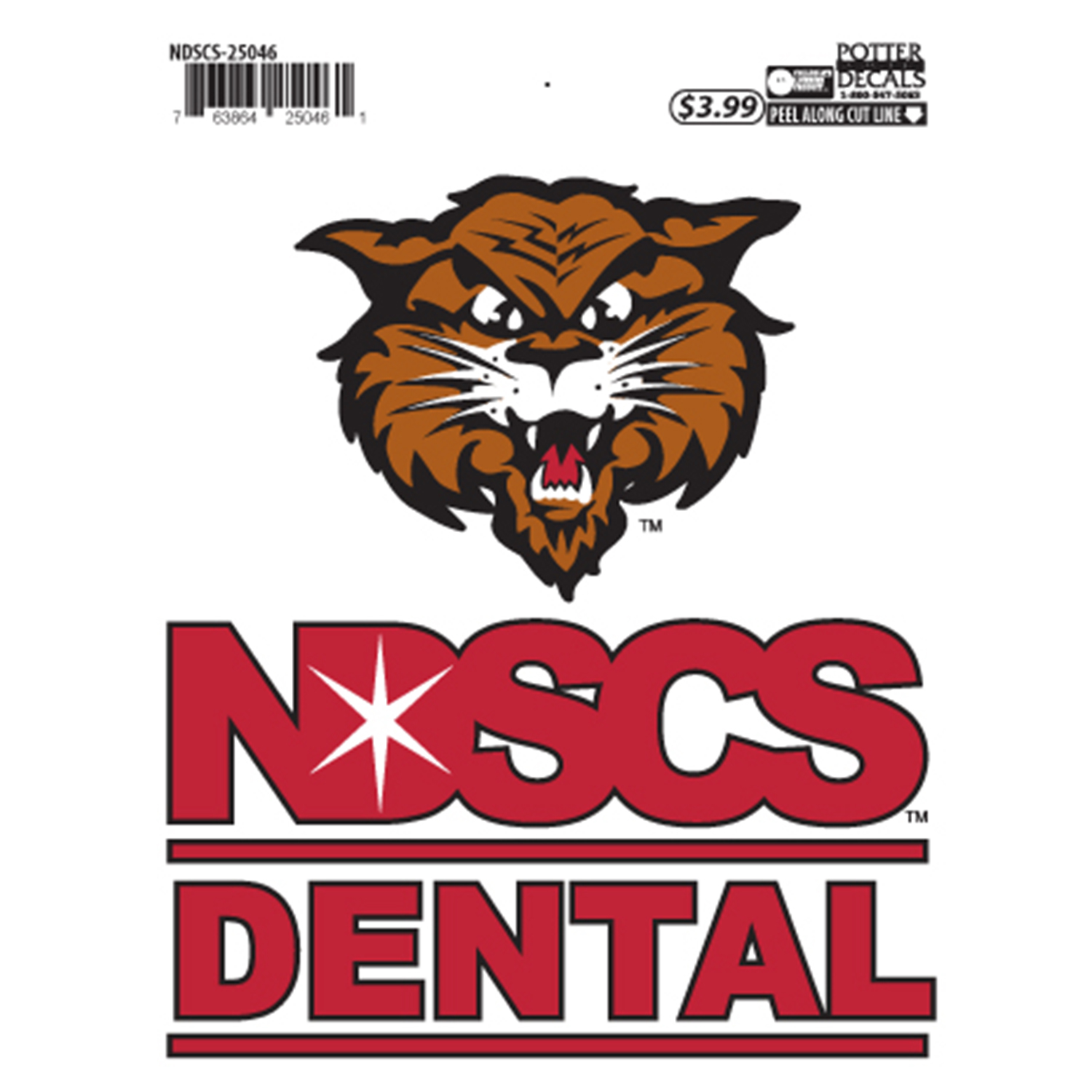 "Image For ""Dental"" Decal by Potter"